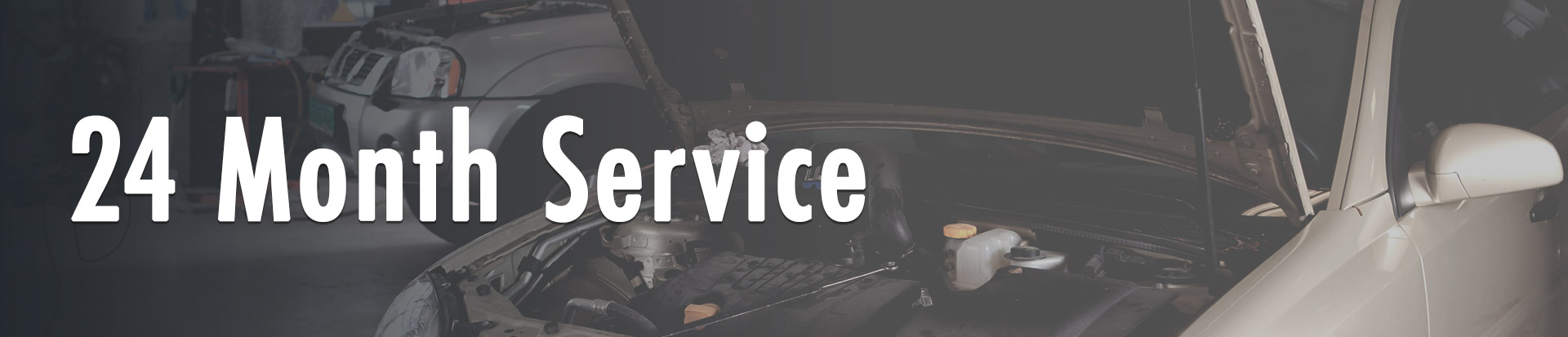 24 Month Vehicle Service Rotherham
